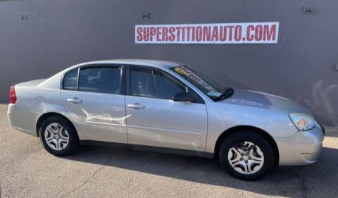 2007 Chevrolet Malibu for sale at Superstition Auto in Mesa AZ