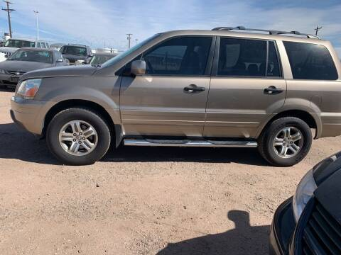 2005 Honda Pilot for sale at PYRAMID MOTORS - Fountain Lot in Fountain CO