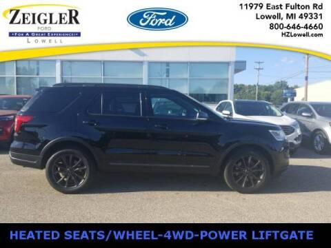 2018 Ford Explorer for sale at Zeigler Ford of Plainwell- michael davis in Plainwell MI