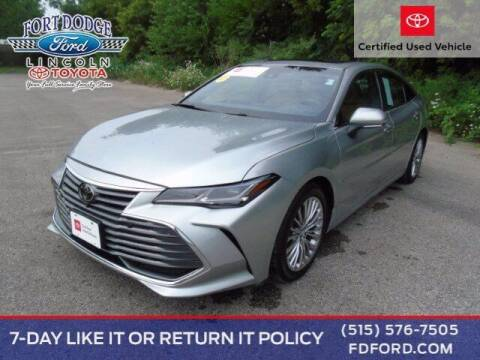 2019 Toyota Avalon for sale at Fort Dodge Ford Lincoln Toyota in Fort Dodge IA