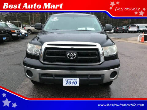 2010 Toyota Tundra for sale at Best Auto Mart in Weymouth MA