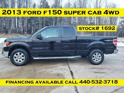 2013 Ford F-150 for sale at Autolika Cars LLC in North Royalton OH