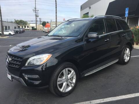 2015 Mercedes-Benz M-Class for sale at MANGIONE MOTORS ORANGE COUNTY in Costa Mesa CA
