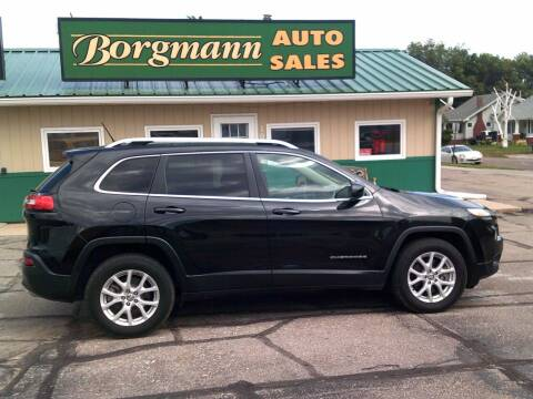 2015 Jeep Cherokee for sale at Borgmann Auto Sales in Norfolk NE