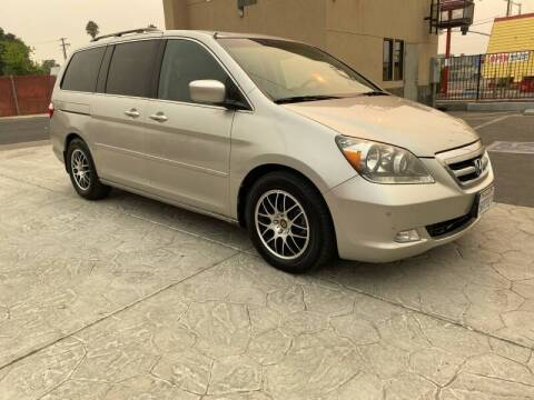 2006 Honda Odyssey for sale at Exceptional Motors in Sacramento CA