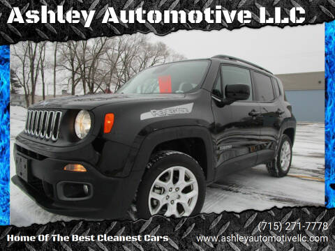 2017 Jeep Renegade for sale at Ashley Automotive LLC in Altoona WI