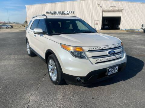 2011 Ford Explorer for sale at MARLER USED CARS in Gainesville TX