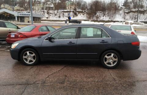 2005 Honda Accord for sale at Gordon Auto Sales LLC in Sioux City IA