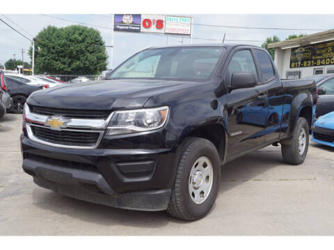 2017 Chevrolet Colorado for sale at Watson Auto Group in Fort Worth TX