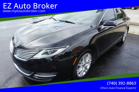 2016 Lincoln MKZ for sale at EZ Auto Broker in Mount Vernon OH