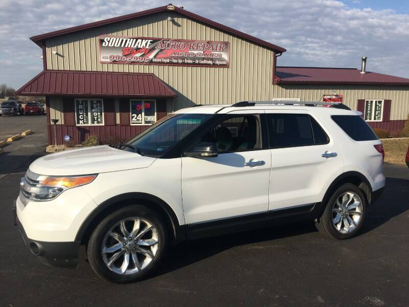 2013 Ford Explorer for sale at Southlake Body Auto Repair & Auto Sales in Hebron IN