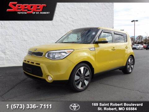 2014 Kia Soul for sale at SEEGER TOYOTA OF ST ROBERT in St Robert MO