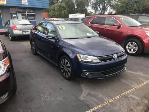 2013 Volkswagen Jetta for sale at Lee's Auto Sales in Garden City MI