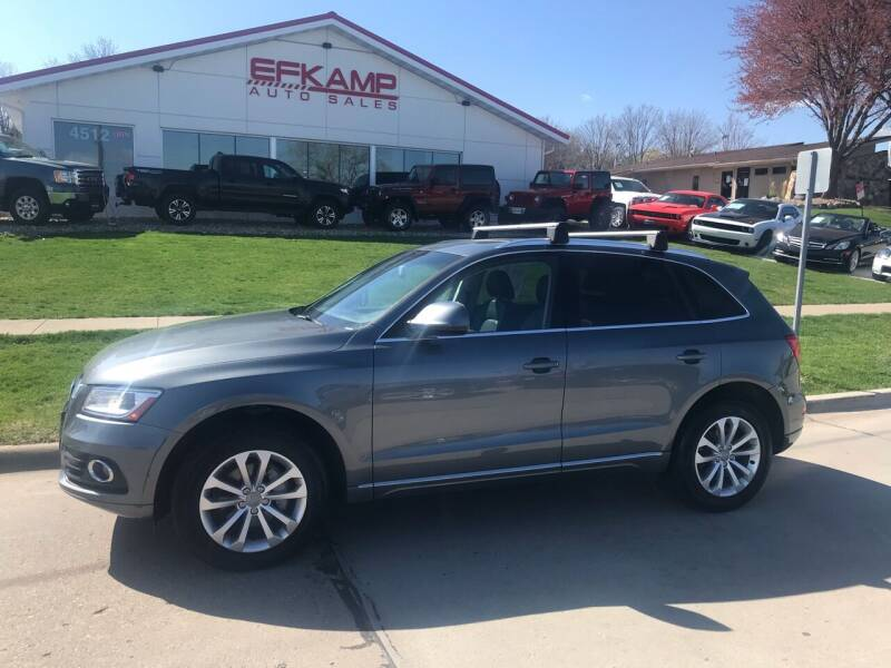2013 Audi Q5 for sale at Efkamp Auto Sales LLC in Des Moines IA