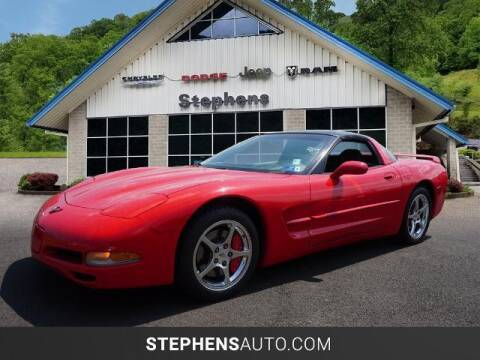 2002 Chevrolet Corvette for sale at Stephens Auto Center of Beckley in Beckley WV