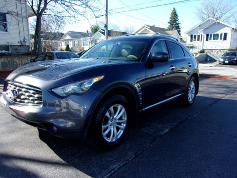2011 Infiniti FX35 for sale at MIRACLE AUTO SALES in Cranston RI