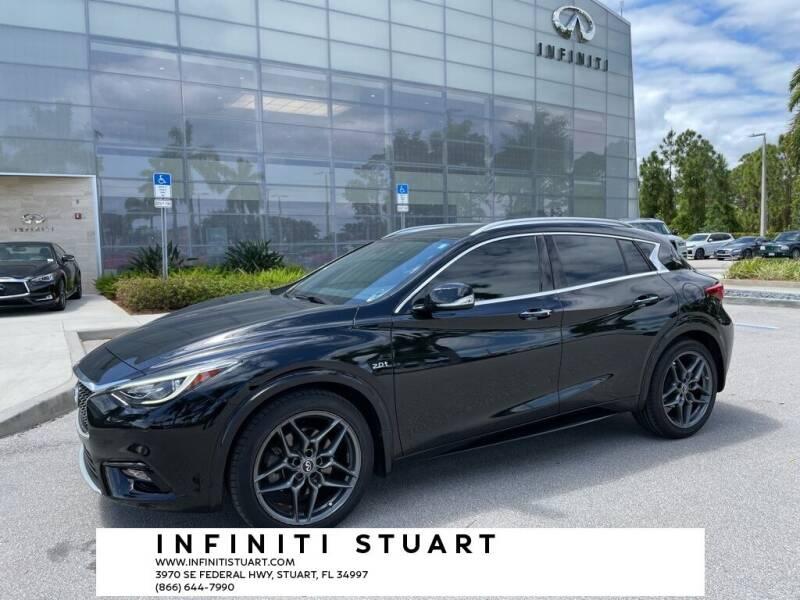 2018 Infiniti QX30 for sale at Infiniti Stuart in Stuart FL