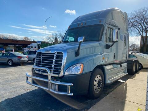 2012 Freightliner Cascadia for sale at AUTOSAVIN in Elmhurst IL