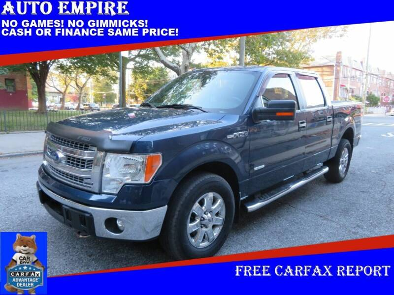 2013 Ford F-150 for sale at Auto Empire in Brooklyn NY