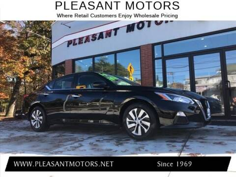 2019 Nissan Altima for sale at Pleasant Motors in New Bedford MA