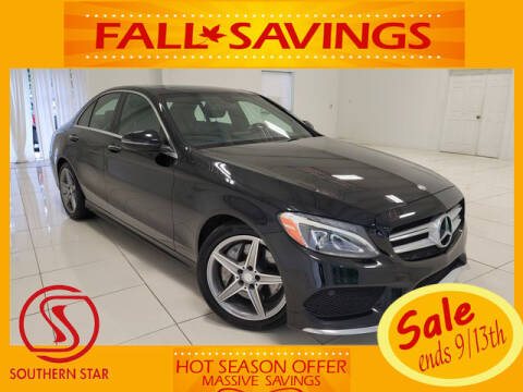 2016 Mercedes-Benz C-Class for sale at Southern Star Automotive, Inc. in Duluth GA