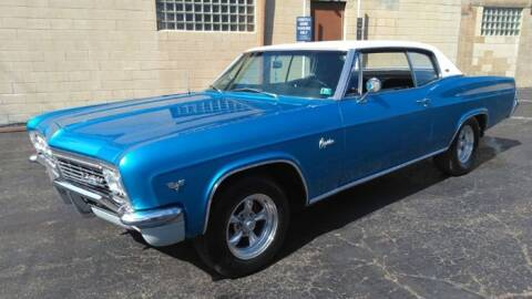 1966 Chevrolet Caprice for sale at Classic Car Deals in Cadillac MI