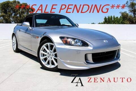 2007 Honda S2000 for sale at Zen Auto Sales in Sacramento CA