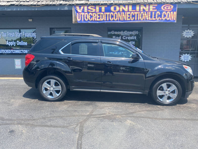 2013 Chevrolet Equinox for sale at Auto Credit Connection LLC in Uniontown PA