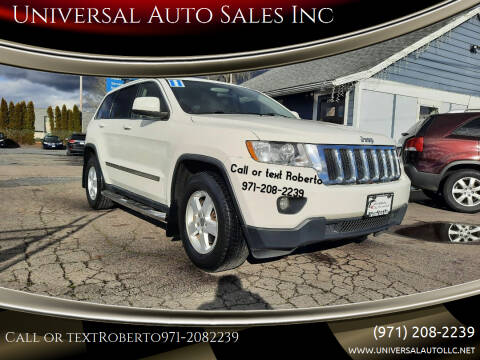 2011 Jeep Grand Cherokee for sale at Universal Auto Sales Inc in Salem OR