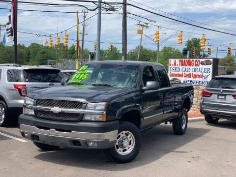 2003 Chevrolet Silverado 2500HD for sale at L.A. Trading Co. Woodhaven in Woodhaven MI