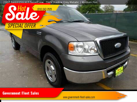 2007 Ford F-150 for sale at Government Fleet Sales in Kansas City MO
