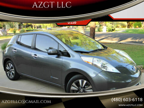 2015 Nissan LEAF for sale at AZGT LLC in Phoenix AZ