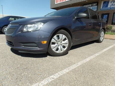 2013 Chevrolet Cruze for sale at Flywheel Motors, llc. in Olive Branch MS