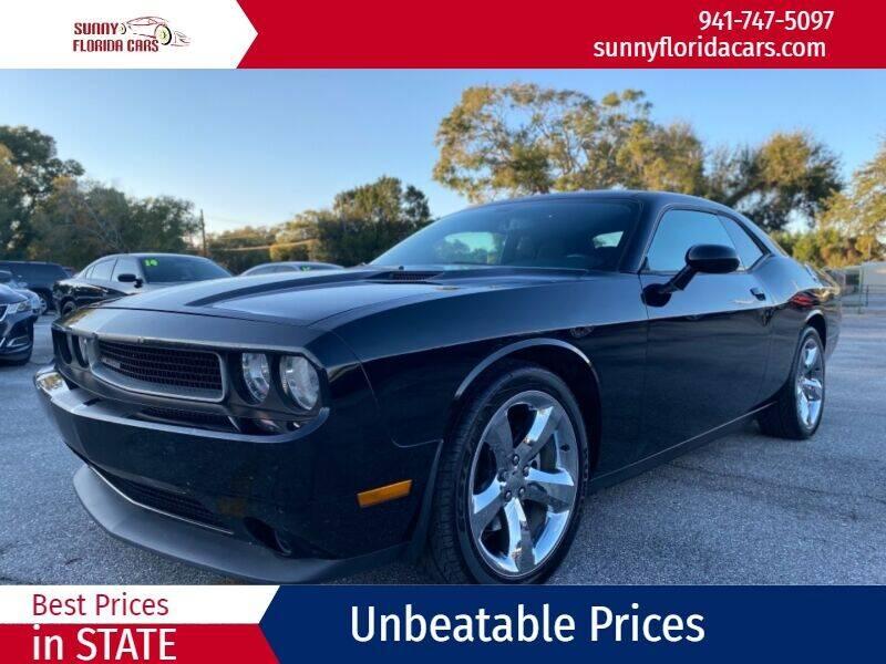 2013 Dodge Challenger for sale at Sunny Florida Cars in Bradenton FL