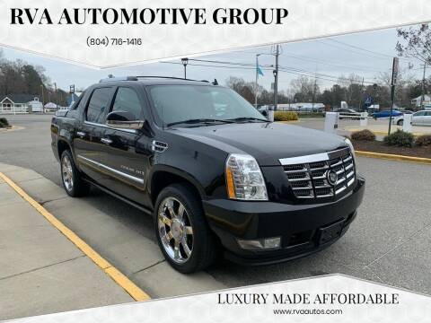 2007 Cadillac Escalade EXT for sale at RVA Automotive Group in North Chesterfield VA