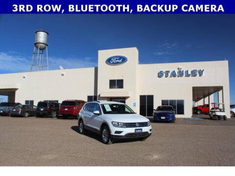 2020 Volkswagen Tiguan for sale at STANLEY FORD ANDREWS in Andrews TX