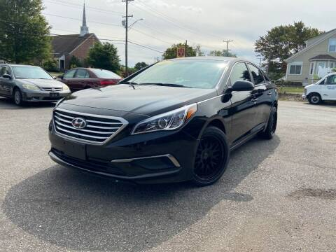 2017 Hyundai Sonata for sale at Metacom Auto Sales in Ware RI