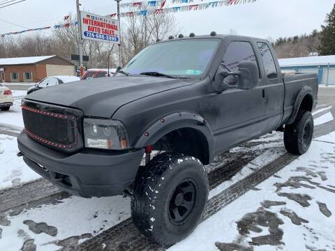 2002 Ford F-250 Super Duty for sale at INTERNATIONAL AUTO SALES LLC in Latrobe PA