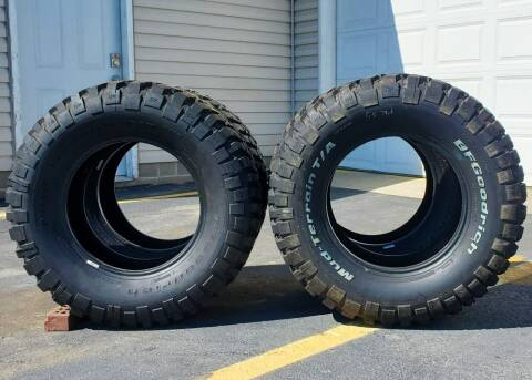BF Goodrich Mud Terrain Tires for sale at A F SALES & SERVICE in Indianapolis IN