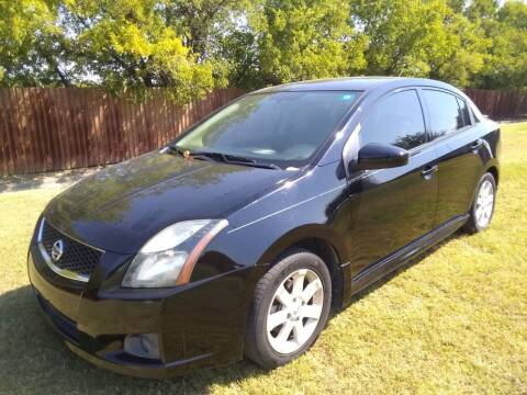 2011 Nissan Sentra for sale at El Jasho Motors in Grand Prairie TX