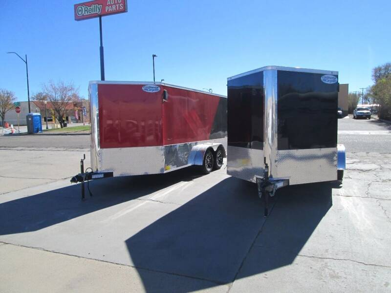 2021 Continental Cargo Enclosed Trailer for sale at Stagner INC in Lamar CO