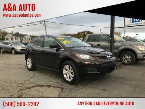 2007 Mazda CX-7 for sale at A&A AUTO in Fairhaven MA