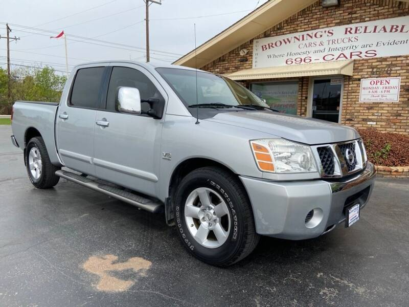 2004 Nissan Titan for sale at Browning's Reliable Cars & Trucks in Wichita Falls TX