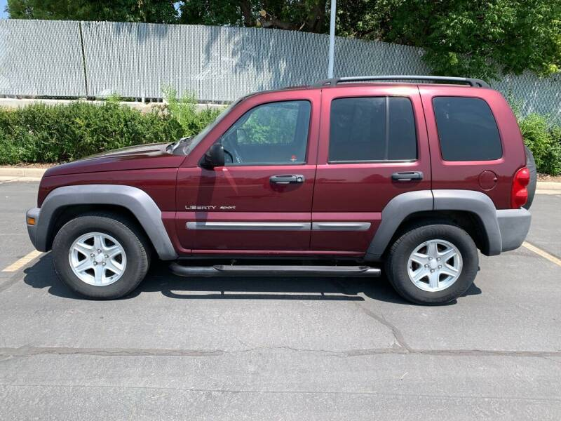 2002 Jeep Liberty for sale at BITTON'S AUTO SALES in Ogden UT