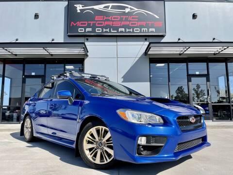2015 Subaru WRX for sale at Exotic Motorsports of Oklahoma in Edmond OK