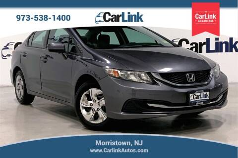 2014 Honda Civic for sale at CarLink in Morristown NJ