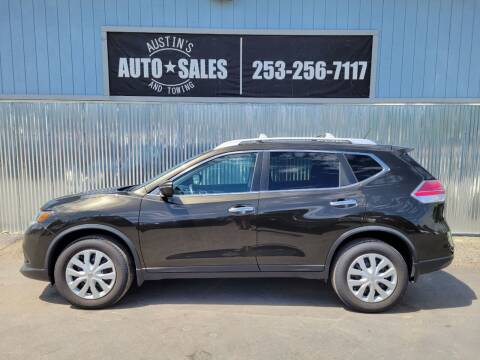 2016 Nissan Rogue for sale at Austin's Auto Sales in Edgewood WA