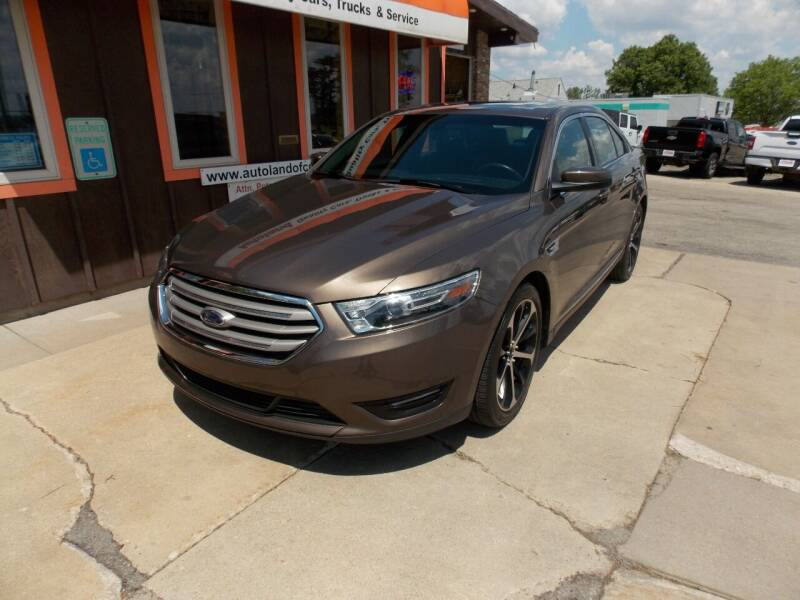 2016 Ford Taurus for sale at Autoland in Cedar Rapids IA