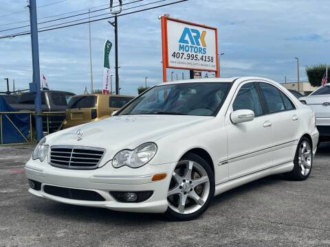 2007 Mercedes-Benz C-Class for sale at Ark Motors LLC in Orlando FL