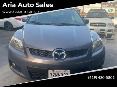 2007 Mazda CX-7 for sale at Aria Auto Sales in El Cajon CA
